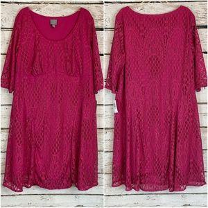 Rabbit, Rabbit, Rabbit Megneta Crochet Lace Dress